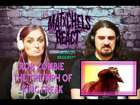 Rob Zombie - The Triumph of King Freak (A Crypt of Preservation and Superstition) First Time React