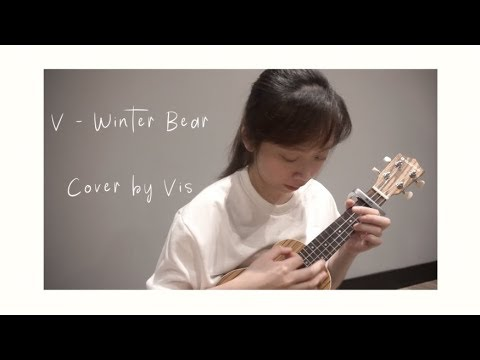 bts v winter bear ukulele cover youtube