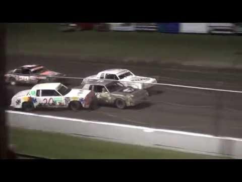 IMCA Hobby Stock Championship feature Benton County Speedway 9/18/16