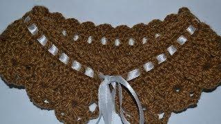 Маленький воротник (Small collar crochet)