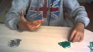 Видео Урок 2 / Браслет из резинок для начинающих