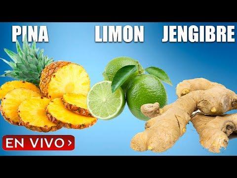 El mejor remedio casero de piña, limón y jengibre - Piña importante para los hombres.