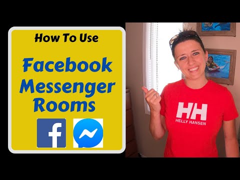 How To Use Facebook Messenger Rooms- Video Chat (2020)