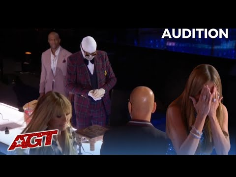Klek Entos: SCARY Magician Makes a Spider Disappear and The Judges Running Off!