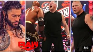 WWE RAW Highlights Today Live 4 5 2021 WWE RAW Highlights Today Live