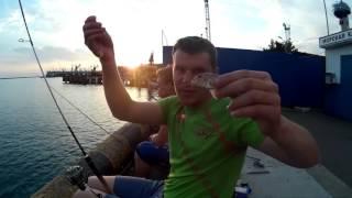 Морская рыбалка. Черное море - Туапсе. Часть 2.(Видео группы vk.com/cgf53 Продолжение первой части ловли в море. На этот раз пробовали ловить на поплавочную..., 2016-09-10T03:19:08.000Z)