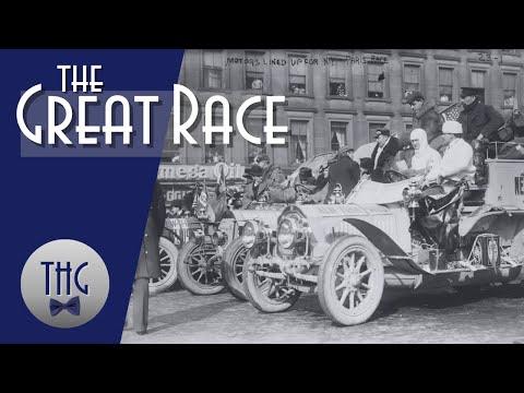 1908 New York to Paris Auto Race