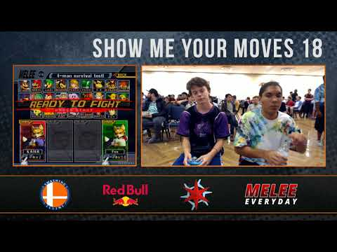 Show Me Your Moves 18 - K | Cal (Fox Blue) vs. RiK (Fox) - SSBM - Top 12, Losers R3