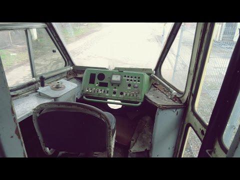 Opuszczony tramwaj Konstal 102Na Urbex