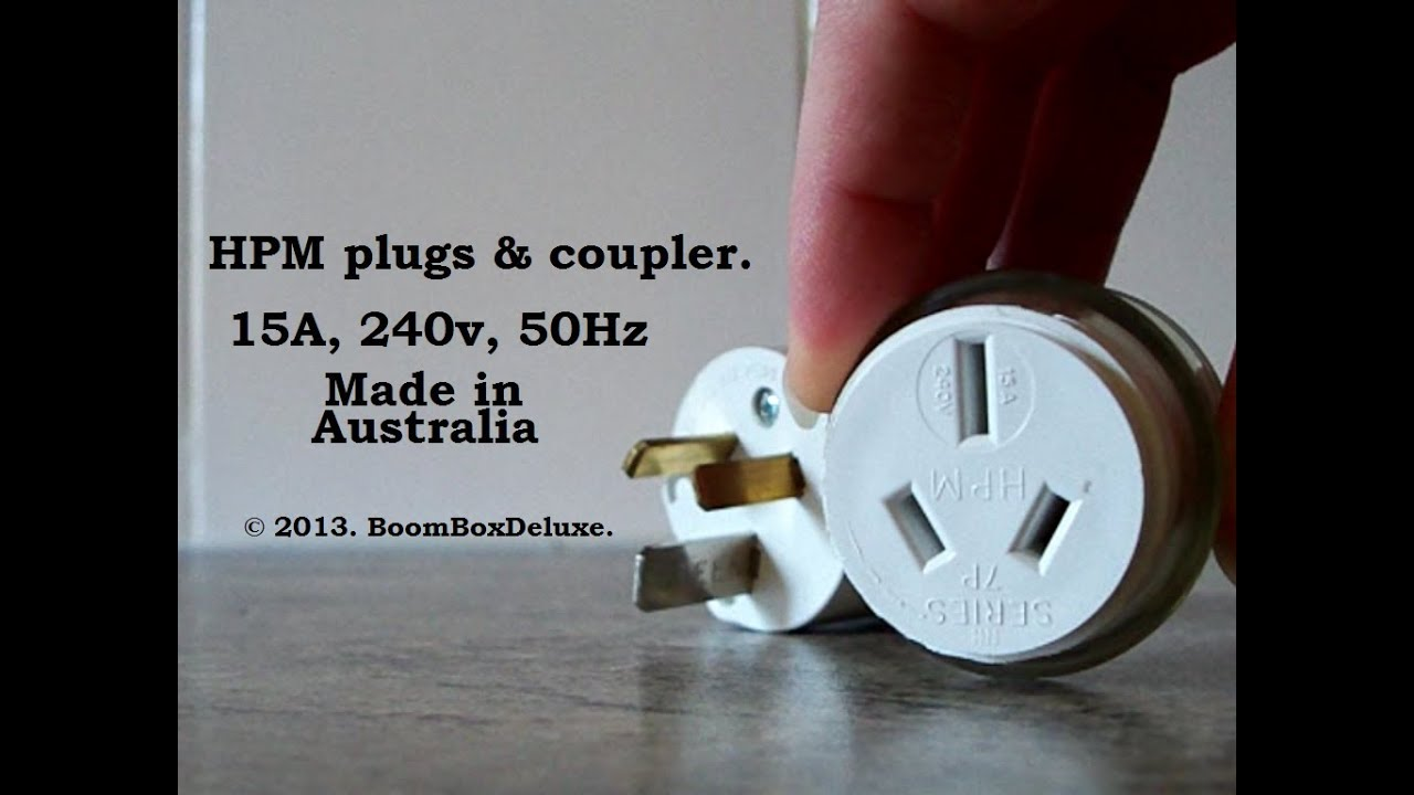 maxresdefault plugs g'day, peoples! au nz 15a plugs & coupler ) youtube 3 pin plug wiring diagram australia at alyssarenee.co