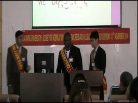 Liaoning University's Society of International Academic Research(LUSIAR)Launching Ceremony video