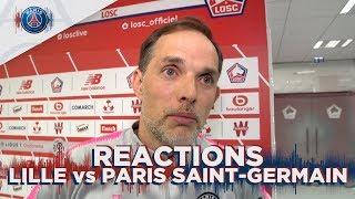 POST GAME INTERVIEWS : LILLE vs  PARIS SAINT-GERMAIN