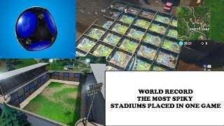 THE MOST Spiky Stadiums placed in Fortnite Battle Royale