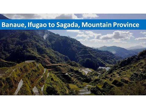 Banaue, Ifugao to Sagada, Mountain Province