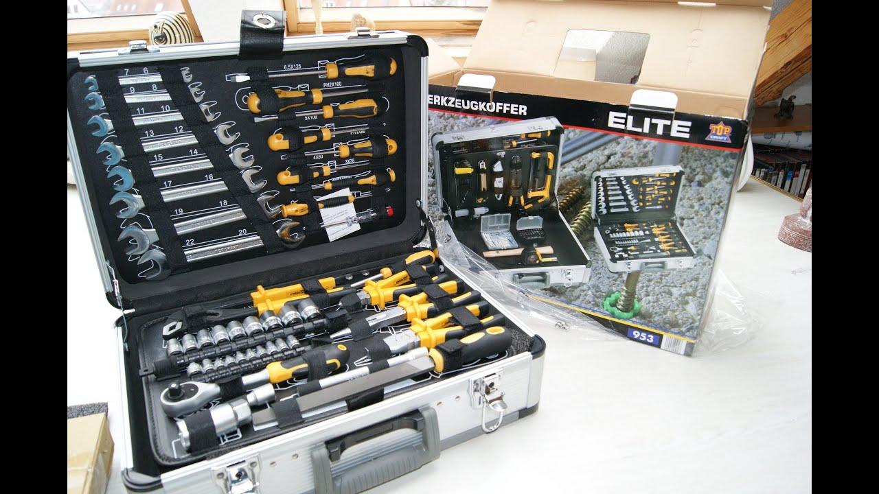 aldi werkzeugkoffer werkzeug spezialwerkzeug werbung 2013 kraft tool tools case box youtube. Black Bedroom Furniture Sets. Home Design Ideas