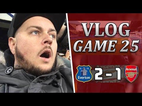 Everton 2 v 1 Arsenal   What A Load Of B*LLOCKS   Matchday Vlog   Game 25