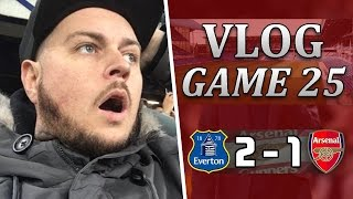 Everton 2 v 1 Arsenal | What A Load Of B*LLOCKS | Matchday Vlog | Game 25