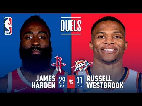 Westbrook & Harden Duel It Out On Christmas In Oklahoma City
