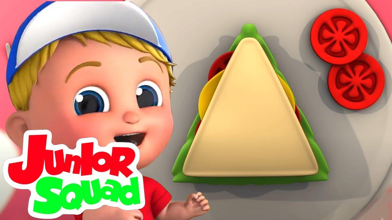 اشكال الاغنية   فيديوهات متحركة   Junior Squad Arabic   التعليم   أغاني للأطفال