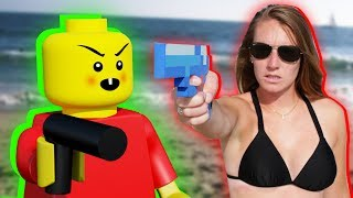 BABY LEGO MEETS MINECRAFT - Lego Wars Animation Movie!!! (Minecraft Animation)