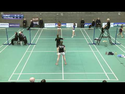 U-17 Girls Doubles Final - Scottish National Junior Championships 2014