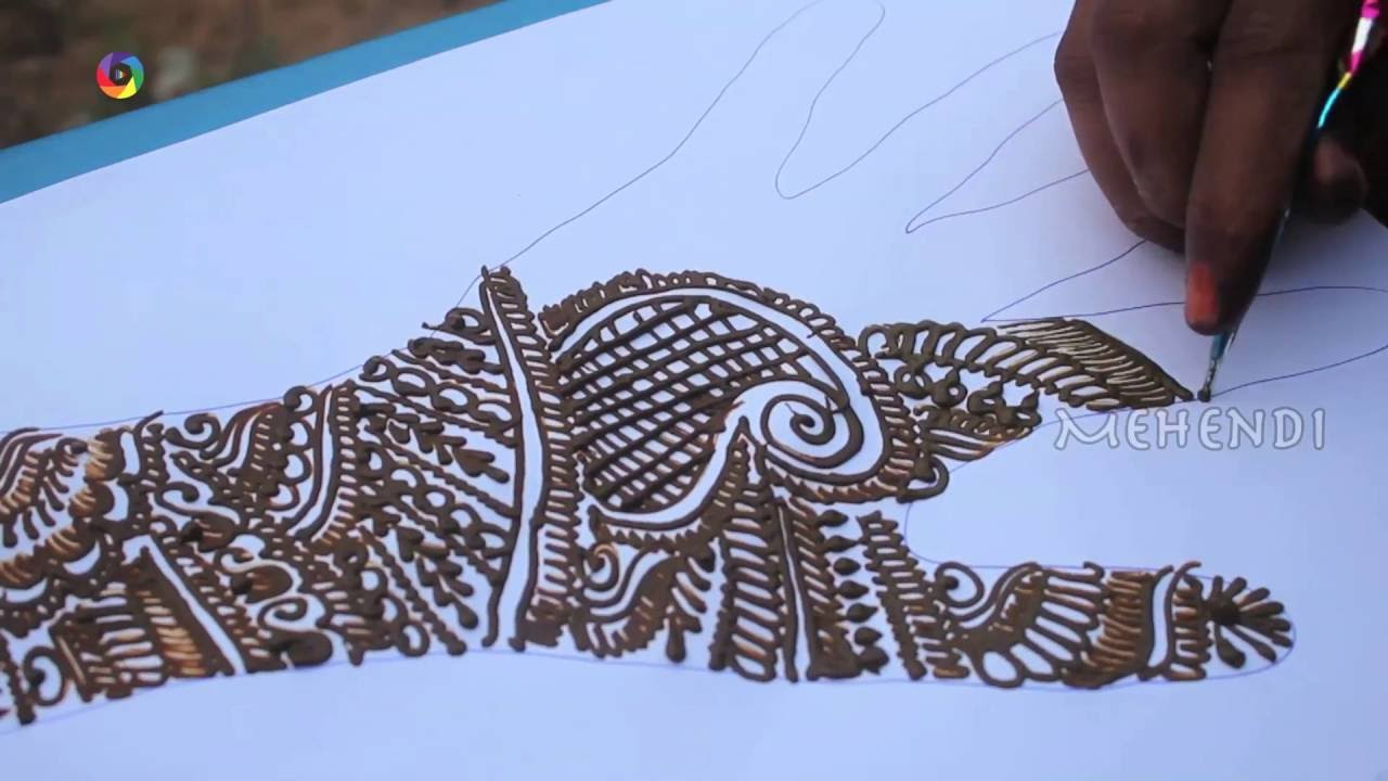 Mehndi Designs Hd Images : Traditional best arabic full hand designs hd latest mehendi
