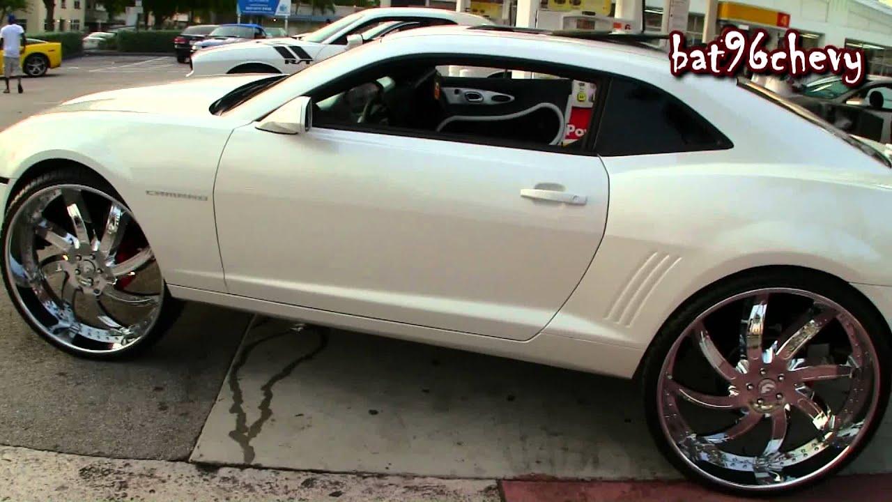 2011 White Diamond Camaro On 30 Quot Forgiatos 1080p Hd