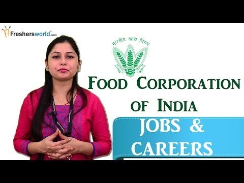 Food Corporation of India  – FCI Jobs 2016,Careers,Salary,Recruitment ,Eligibility