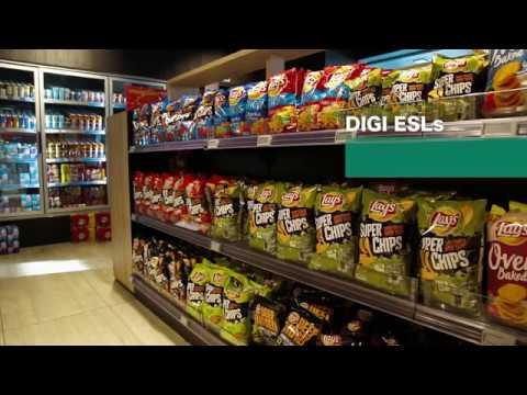Customer Case Study – DIGI ESL Solution at Bruno Service Station, Belgium