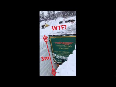Neve alta come il tir!