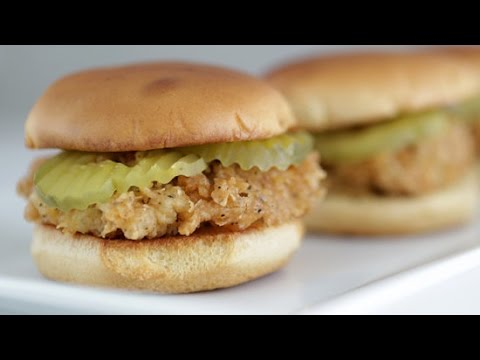 Chick-Fil-A Chicken Sandwich Recipe   Get the Dish