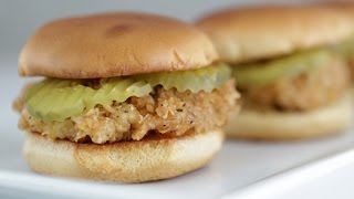 Chick-Fil-A Chicken Sandwich Recipe | Get the Dish