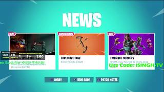 *NEW* Fortnite Item Shop today, MARCH 31 PUNCHED UP EMOTE (ONLY 200 V BUCKS )