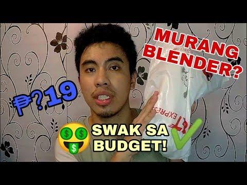 MURANG BLENDER | UNBOXING | REVIEW