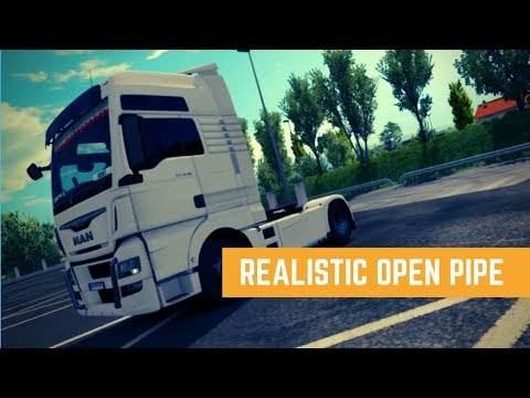 ETS2 Realistic Open Pipe sound | Ets2 mods | Euro Truck Simulator 2