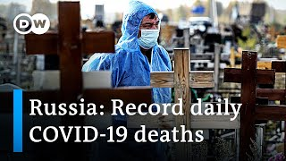 Russia's COVID-19 hospital beds at 2/3 capacity as they see record death toll
