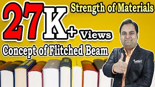 Concept of Flitched Beam | Stresses in Beams | Strength of Materials |