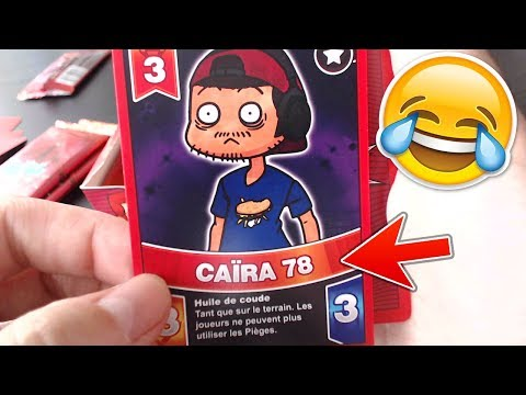 A LA RECHERCHE DE PIEW DIE PIE ! UNBOXING CARTES DE YOUTUBERS  BATTLE TUBE #2
