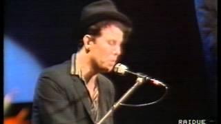 Tom Waits live at Premio Tenco 1986 Sanremo-Italy