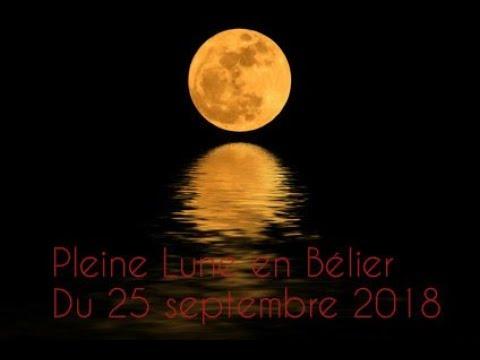 Pleine Lune en Bélier 25 septembre 2018: Libère toi!