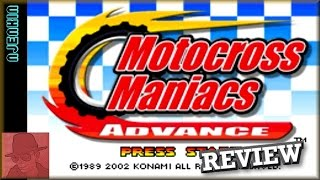Motocross Maniacs Advance - on the Game Boy Advance - with Commentary !!