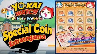 Yo-Kai Watch Wibble Wobble - Special Coin Extravaganza Login Event!  [iOS Android Gameplay]