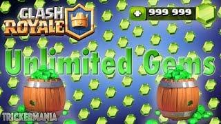 Clash Royale- Unlimited Gems Hack! Working June 2016!
