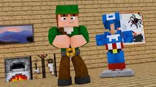 Video Minecraft PE : Pocket Heroes #03 - Virei o Capitão América ! (Minecraft Pocket Edition) download MP3, 3GP, MP4, WEBM, AVI, FLV November 2018