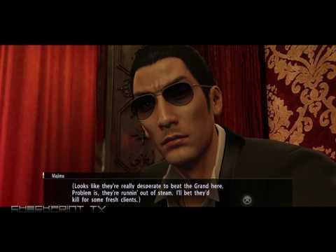 Yakuza 0 Gameplay - Recruiting A Hostess