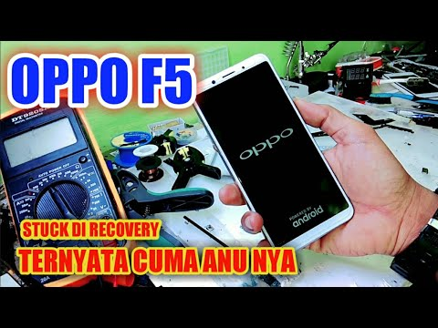 OPPO A37FW Muncul Recovery mode.