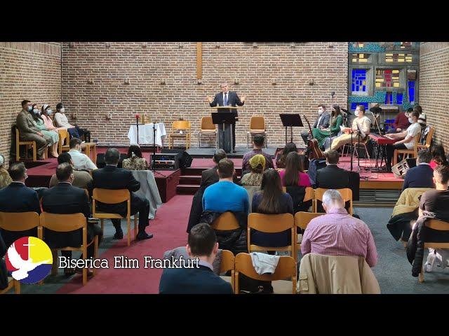 Programul Bisericii Elim Frankfurt 07.03.2021