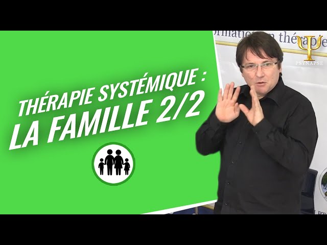 Formation Thérapie Systémique Psynapse: Les questions récurrentes