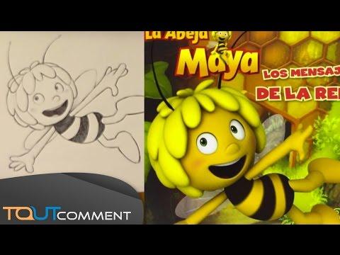Dessiner Maya l'abeille