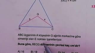 ENDEMİK Tyt Ayt Geometri Kenarortay Test 2 Çözümleri